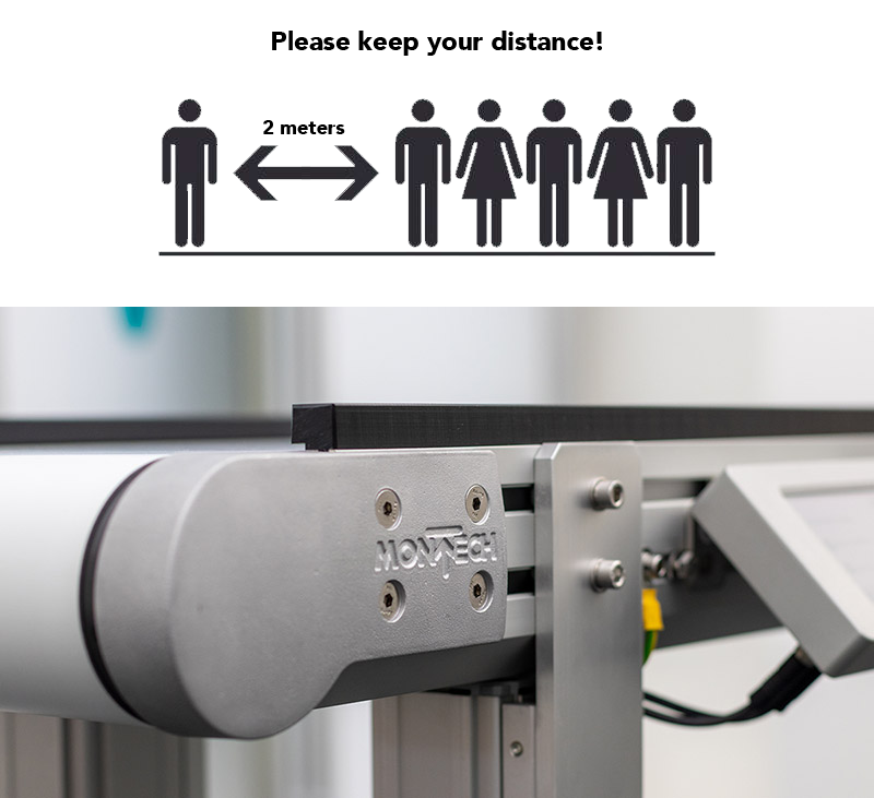Conveyors help with social distancing